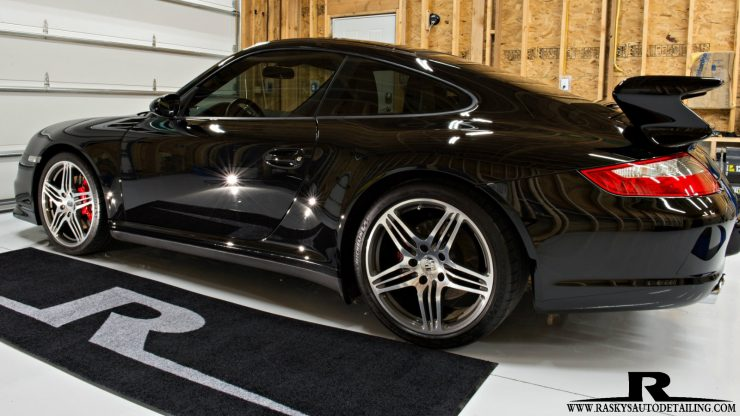This Porsche 911 4s is ready for a night on the town or a day at the races after the CQuartz Finest Reserve Treatment