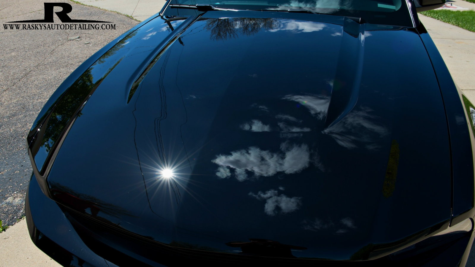 A glass nano coating completed this 2 step paint correction by Chad Raskovich of Minneapolis