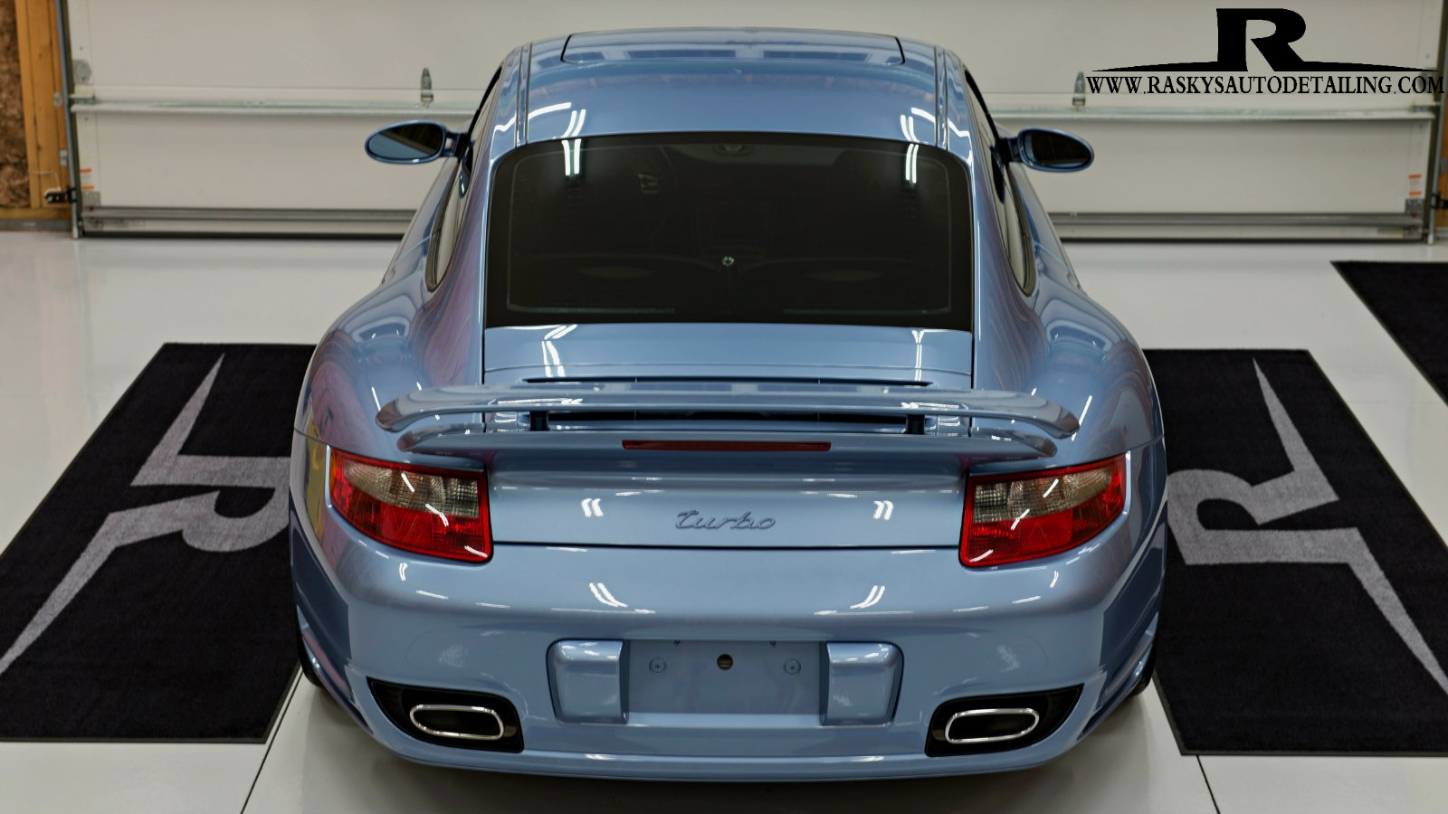 This Turbo 911 is ready to turn heads and light up the tires after a ceramic nano coating by Raskys Auto Detailing Minneapolis